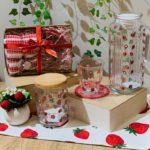 イチゴ柄の商品