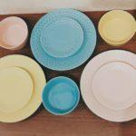 春カラー食器♪