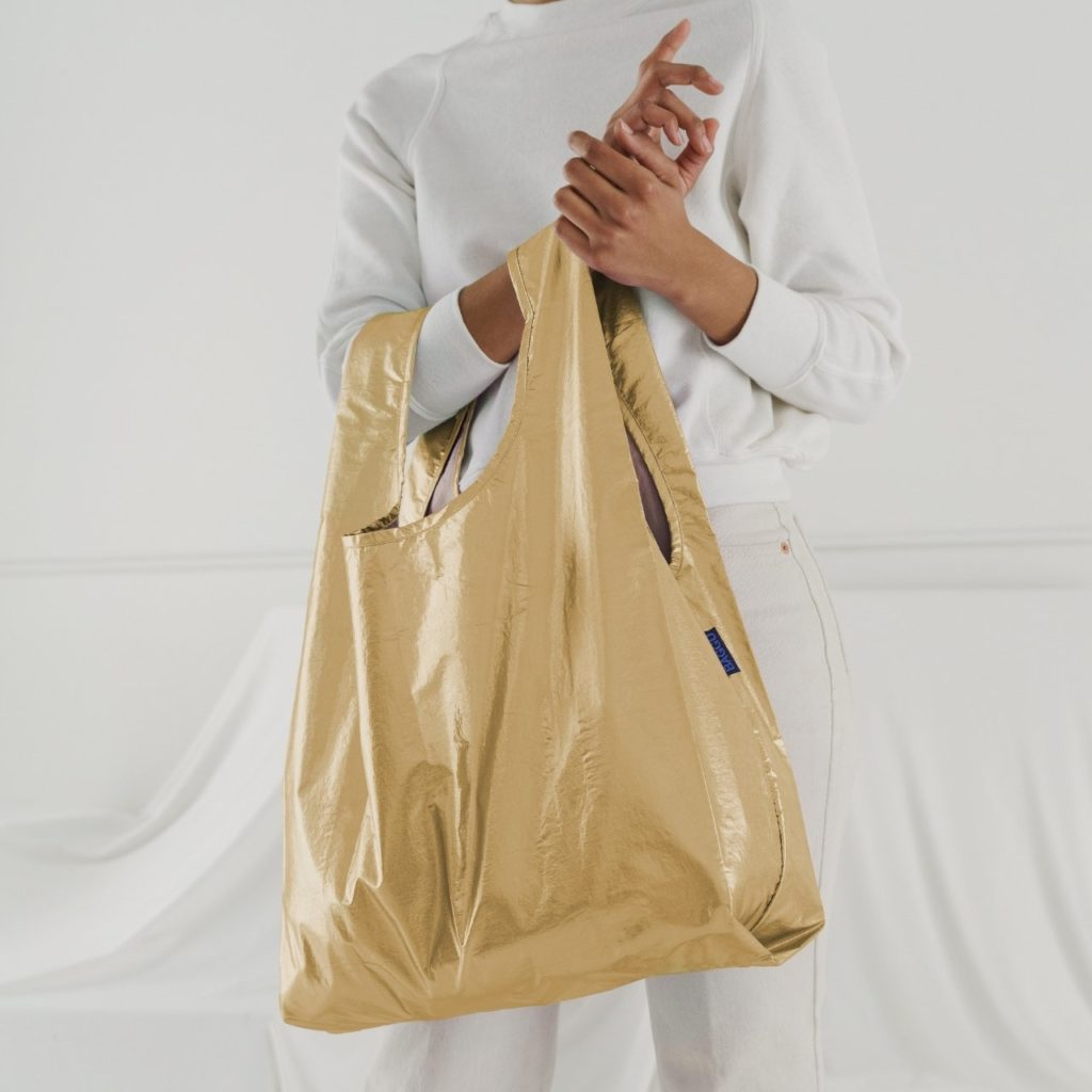 Standard baggu metallic Gold