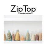 フタのない容器「Zip Top」